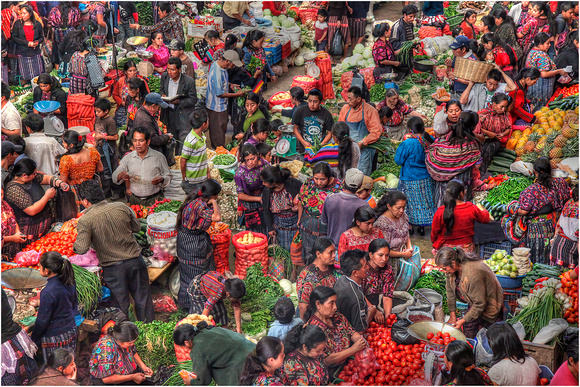 Peter Stott_Vegetable Market, Chichecastenango, Guatemala